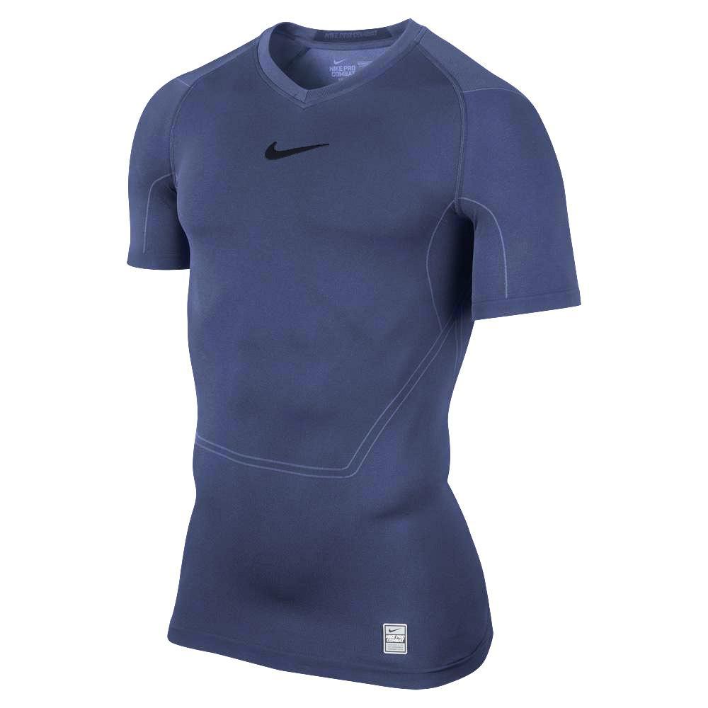 Nike Pro Combat Lightweight Shirt Navy Online Voetbalwinkel